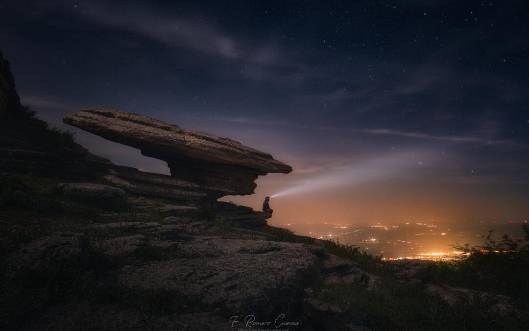 Salida al Torcal de Antequera con El Niño de las luces