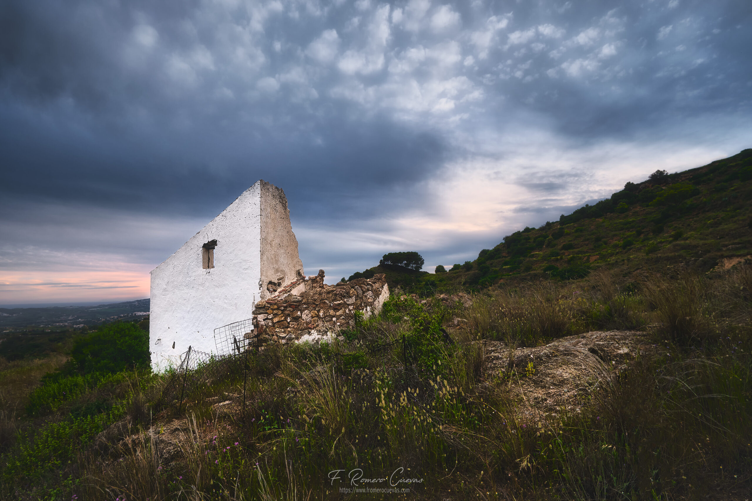 Vieja casa derruida en Mijas