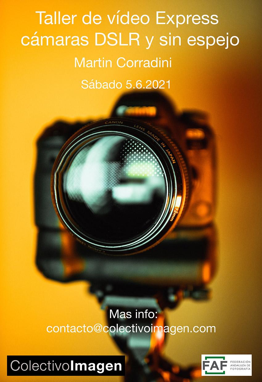 Taller de vídeo Express cámaras DSLR y sin espejo